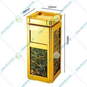 thùng rác đá hoa cương giá rẻ