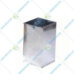 thùng bên trong thùng rác đá hoa cương