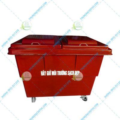 thùng đựng rác 1000 lít composite