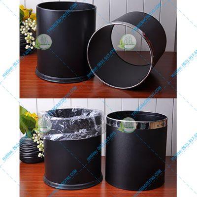 thùng rác inox 2 lớp