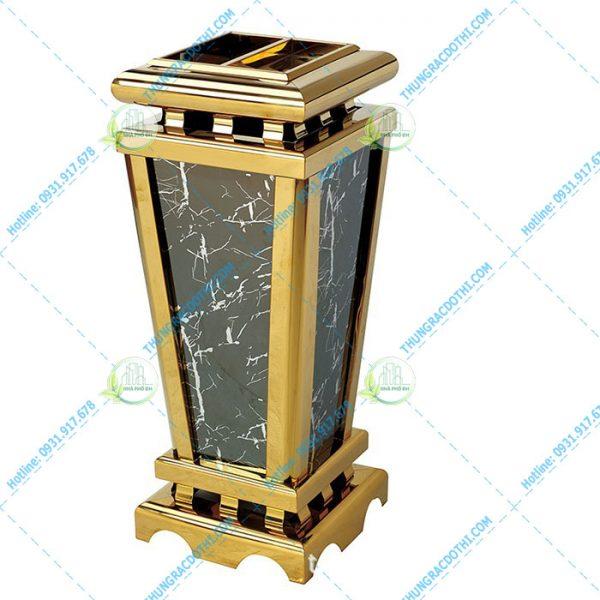 thùng đựng rác khách sạn đá hoa cương