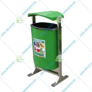 thùng rác ngoài trời giá rẻ