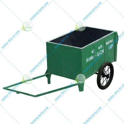 Xe cải tiến chở rác 1000 lít