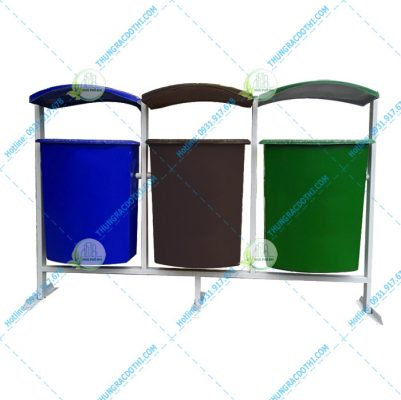 thùng rác 3 màu