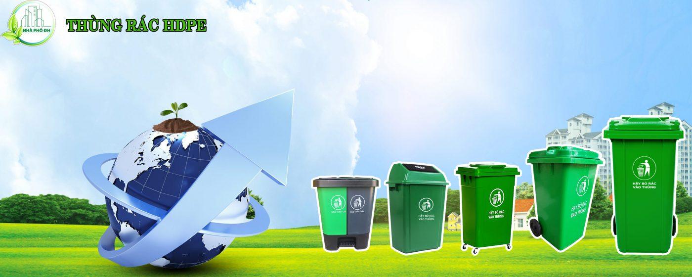Thùng rác nhựa cao cấp