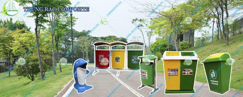 Mua thùng rác công cộng bằng nhựa