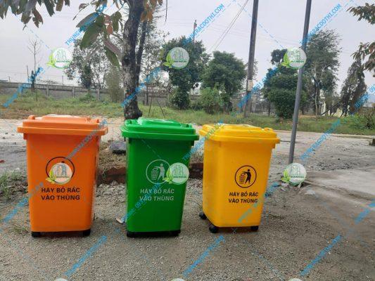 thùng rác tiện lợi