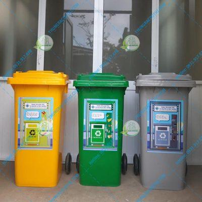 thùng đựng rác phân loại rác thải