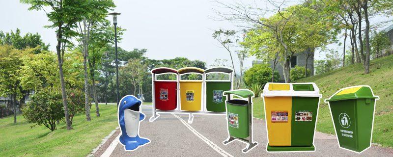 địa chỉ bán thùng rác composite