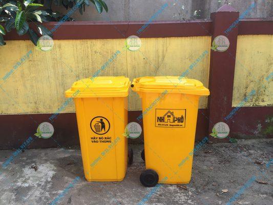 thùng rác gio linh