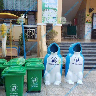 ưu điểm của thùng rác composite