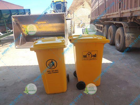 thùng rác nhựa tại gio linh