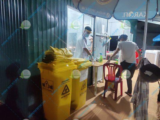 bao rác y tế đựng chất thải