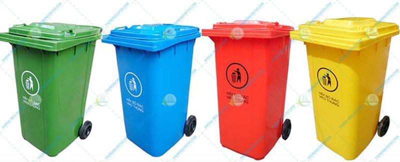 thùng bỏ rác thải