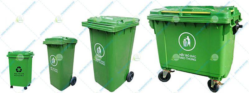 thùng đựng rác công nghiệp