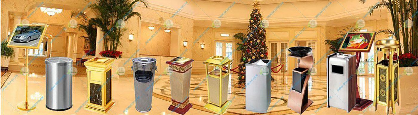 thùng rác khách sạn