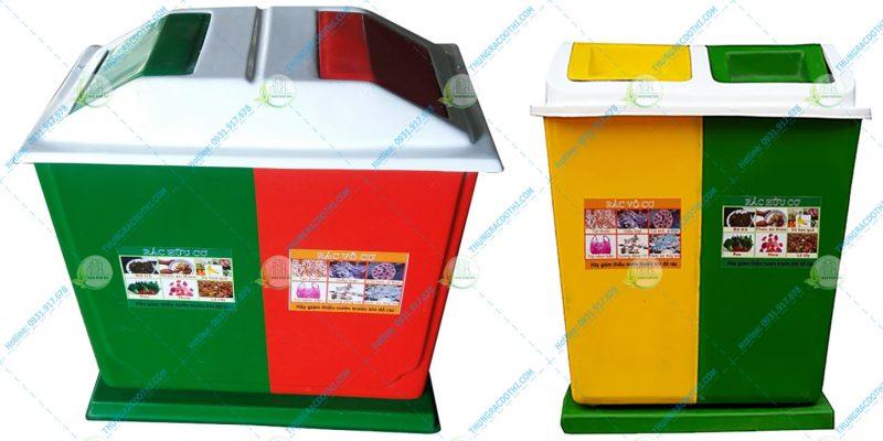 thùng rác phân loại