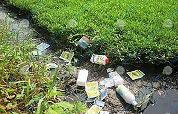 xử lý chất thải bảo vệ thực vật